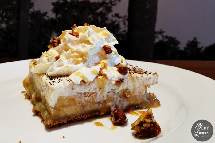 Banoffee Pie, CPK PH New Menu, California Pizz Kitchen Philippines New Menu on its 20th Anniversary, CPK PH Menu, Blog Review, Branches, Contact Info CPK PH Delivery, Website, Facebook, Instagram, Twitter, Best Pizza in Manila, YedyLicious Manila Food Blog