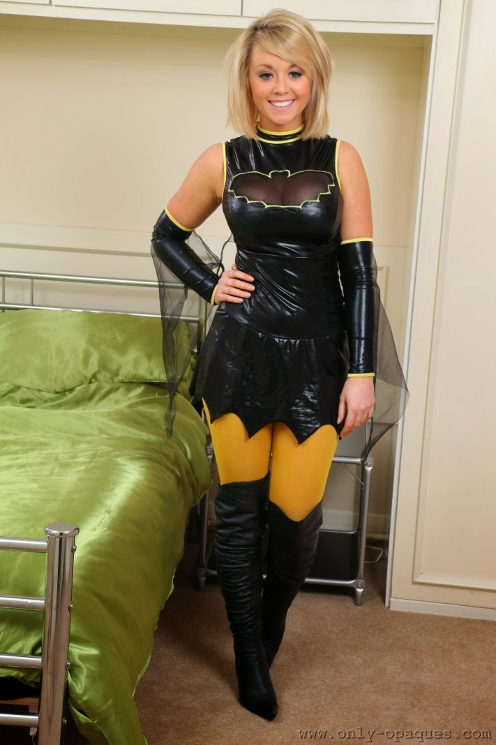 Teen fetish costume and weird object insertion play 7