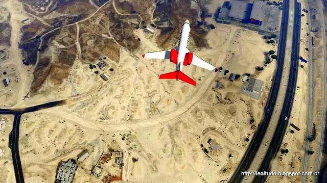 Grand Theft Auto Online Airplane Flight up view - Voo Aeronave visao cima