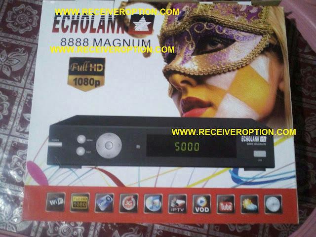 ECHOLANK 8888 MAGNUM HD RECEIVER BISS KEY OPTION