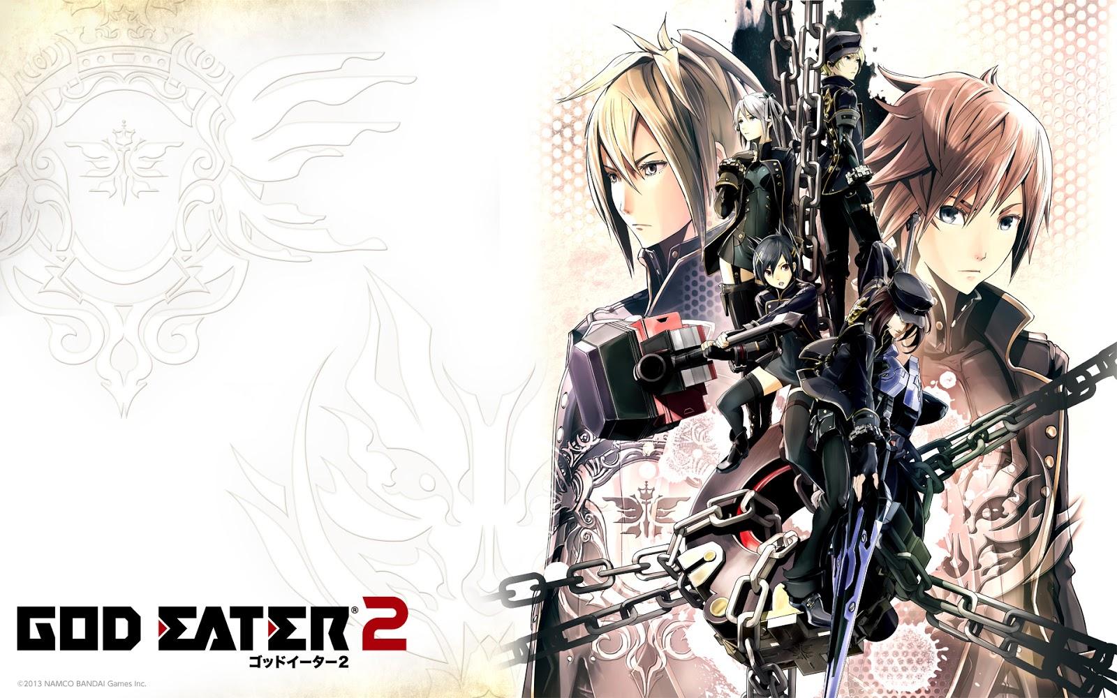 Download God Eater 2 PSP ISO (ENG) Full Game Free For