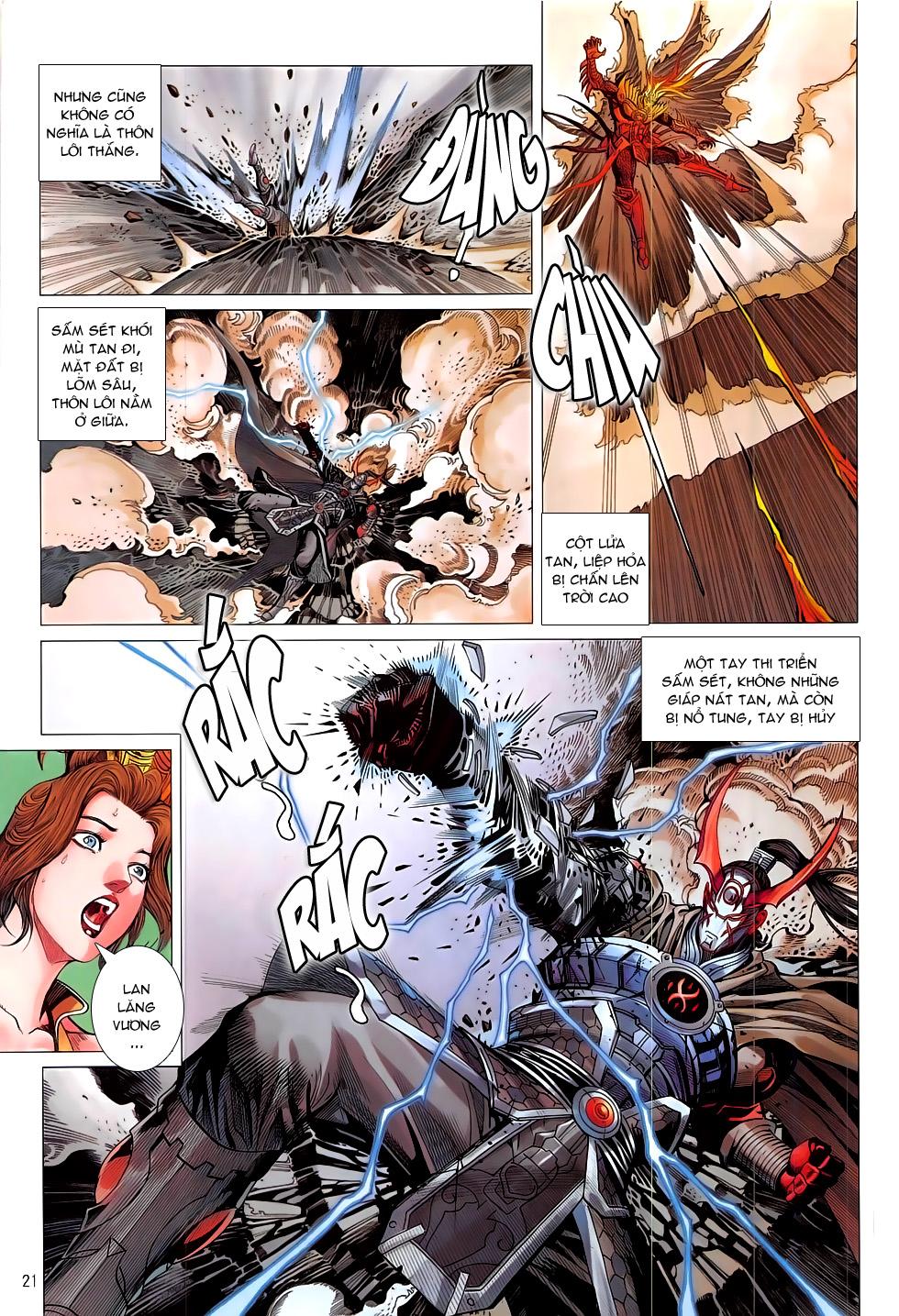 Chiến Phổ chapter 17: chiến thần phẫn nộ trang 21