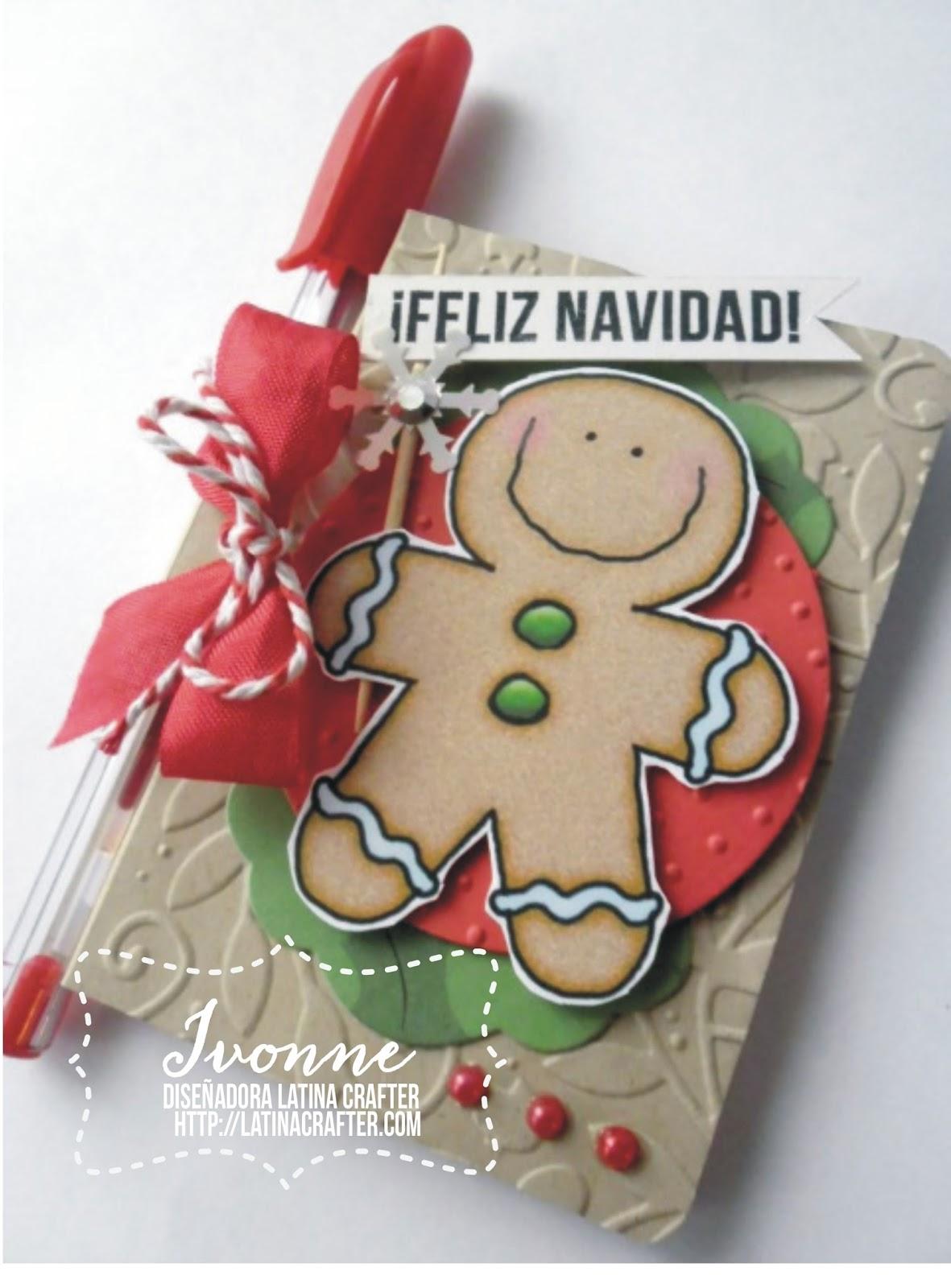 Latina crafter sellos en espa ol desde el taller de iv for Detalles de navidad