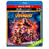 Avengers: Infinity War (2018) 4K UHD Audio Dual Latino-Ingles