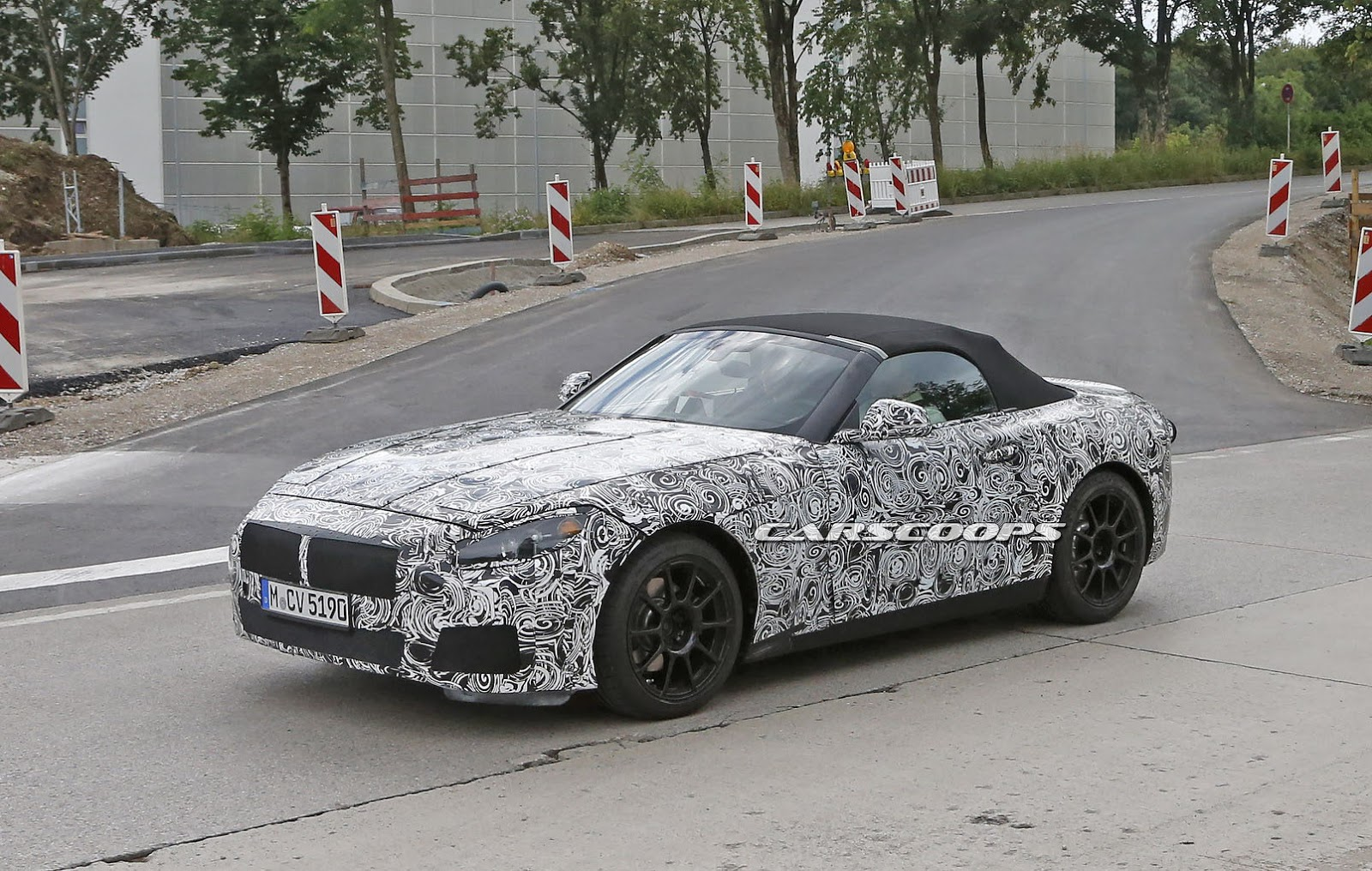 New Bmw Z5 Roadster Is The Next Toyota Supra S Cousin Carscoops