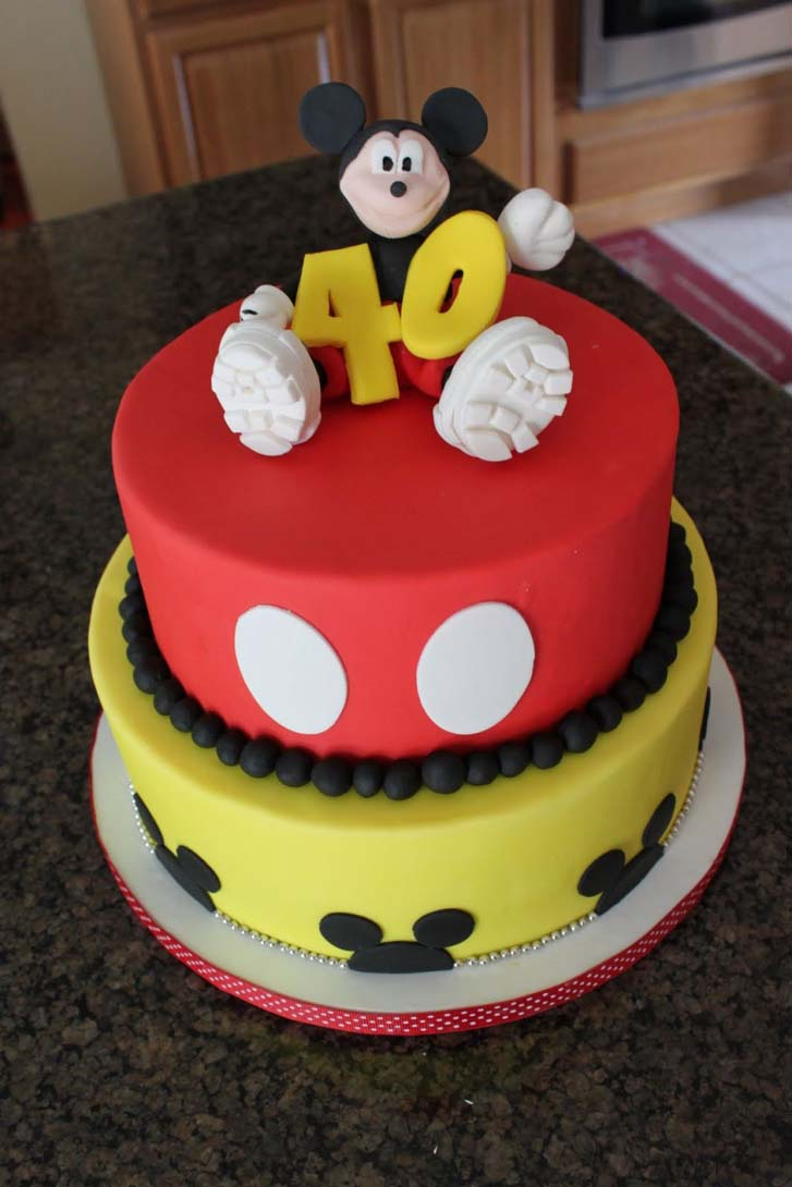 Mickey Mouse Birthday Cake Design Cake Magazine