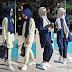 للمحجبات ستيل رائع لباس ربيعي بألوان متناسقة Hijab