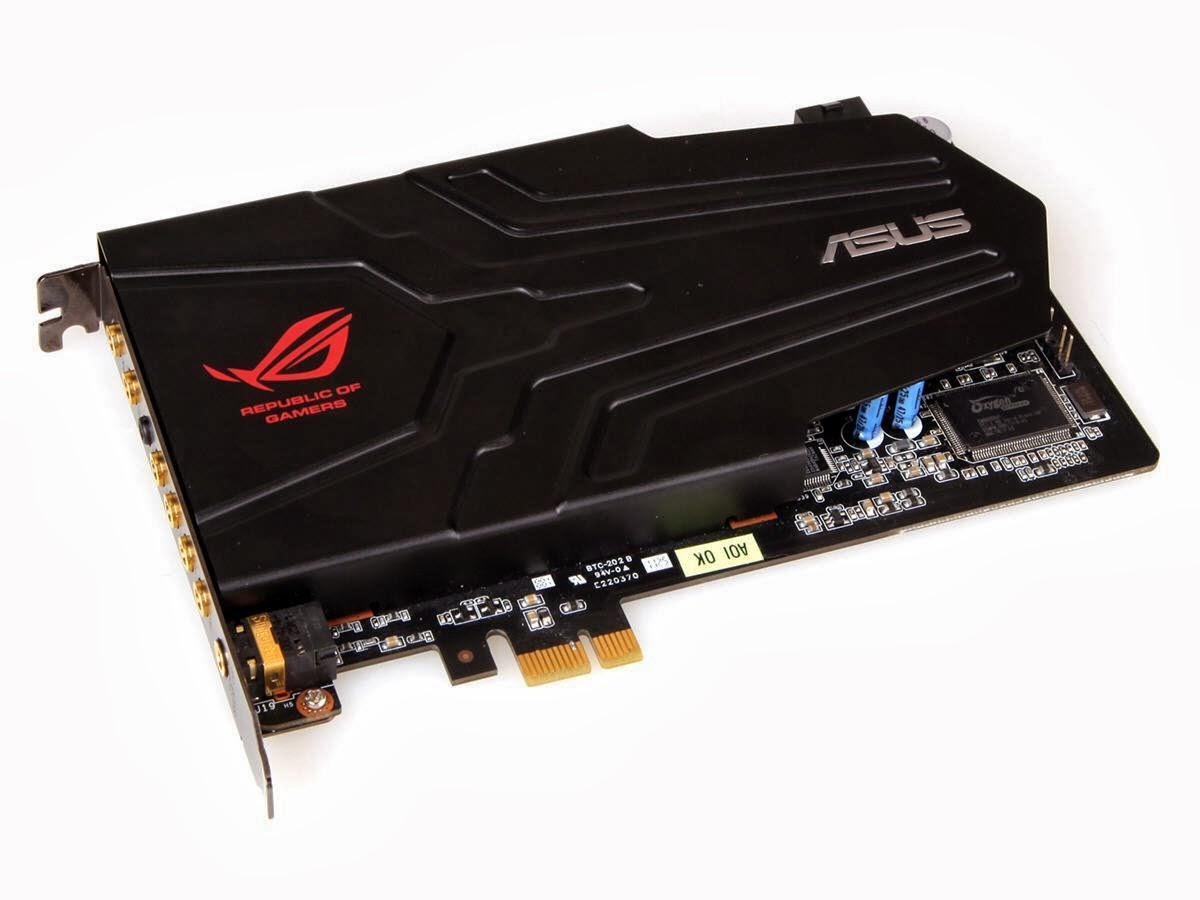 Best Sound Cards 2020 ASUS Xonar Phoebus ROG Gaming Soundcard Set Sound Cards ~ Best