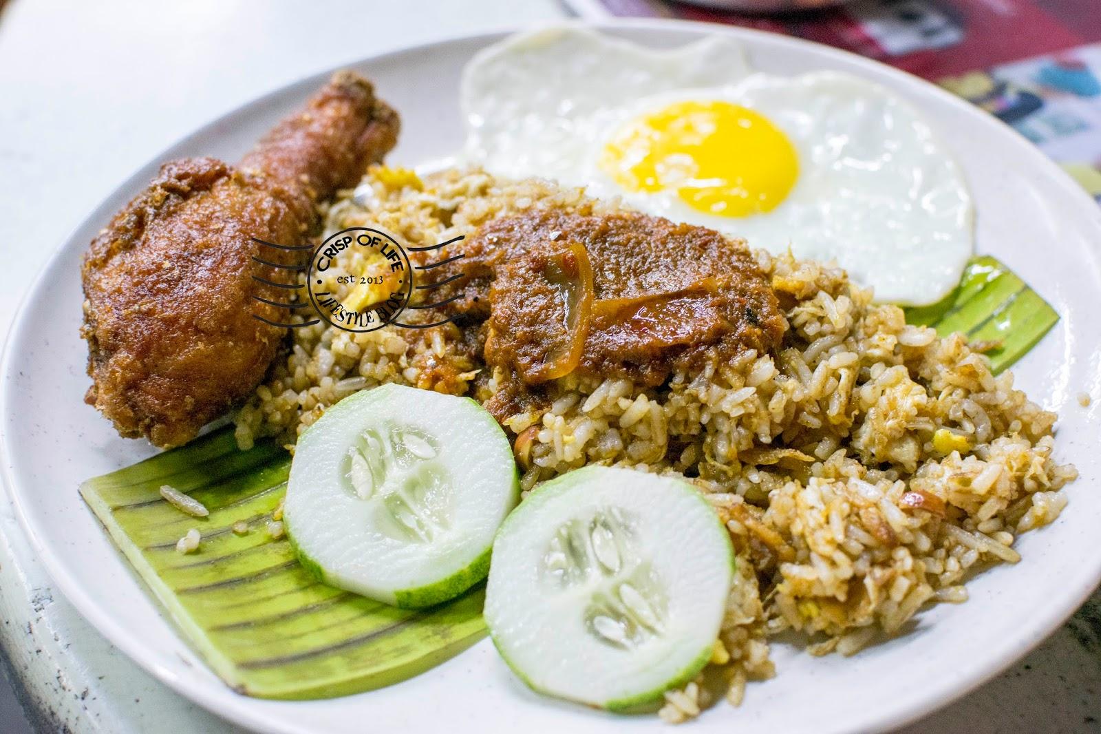 Maggie goreng supper in Penang