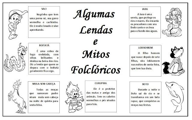 Lendas e Mitos Folclóricos