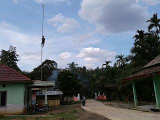 Pemasangan Wifi di Mts Miftahussalam Megang sakti