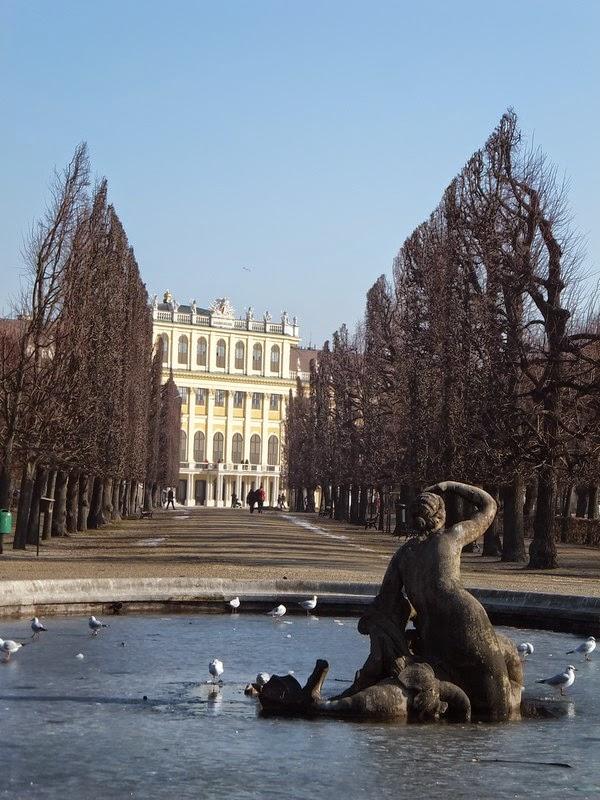Vienne Wien Schönnbrunn château Habsbourg