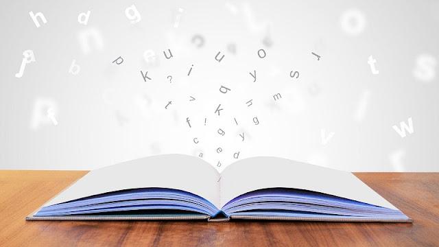 ilustrasi keren buku dan pengetahuan yang merupakan sumber informasi penting dalam proses belajar
