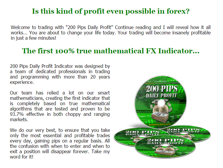 Forex daily profit