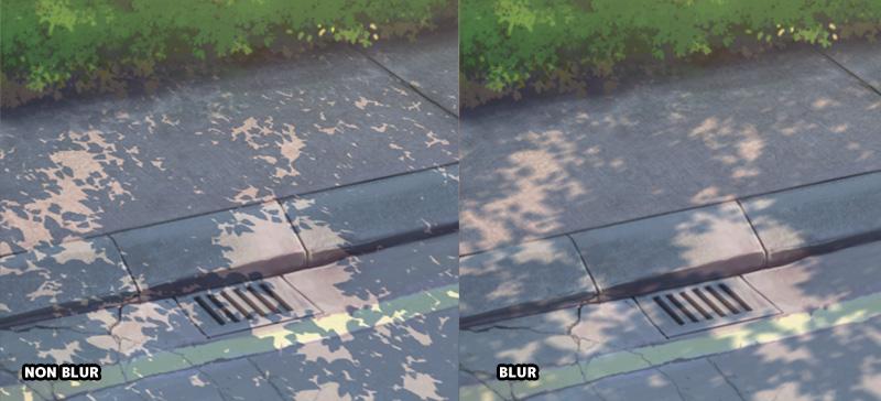 soft shadow vs hard edge shadow