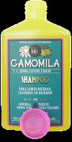 Shampoo de Camomila para cabelo Loiro - Resenha do Shampoo de Camomila para cabelos com luzes liberado para Low Poo da Lola