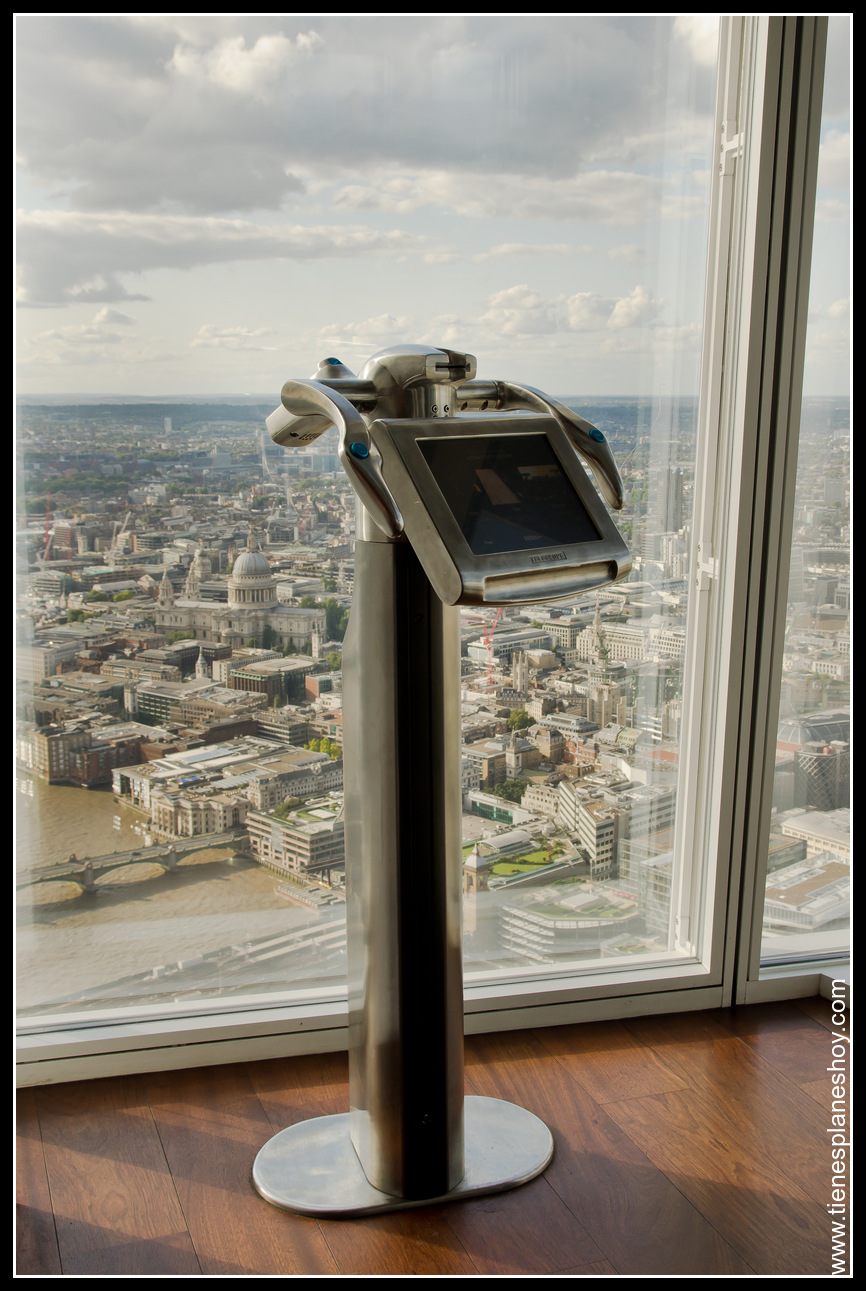 Mirador: Vistas  de Londres desde The Shard London inglaterra