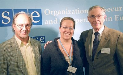 Dr. Gerhard Engelmayer, Freidenkerbund Österreich; Elisabeth Sabaditsch-Wolff; Bruce Lieske, ACT! for America