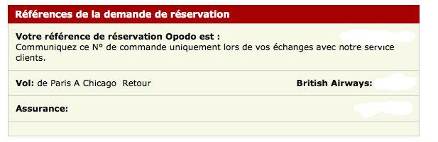 Ma mauvaise exprience avec Opodo