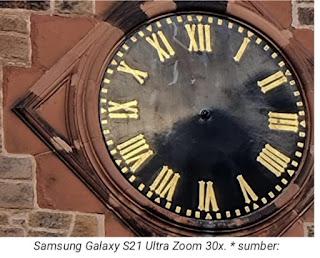 Hasil foto kamera Samsung Galaxy S21 ultra zoom 30×