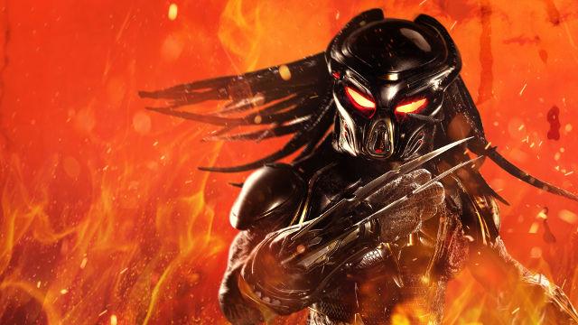 The Predator Flammes - Fond d'écran en Ultra HD 4K