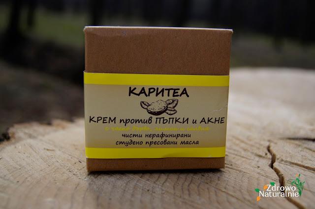 Karitea - Anti-acne Cream - Krem do twarzy przeciwtrądzikowy 30 ml