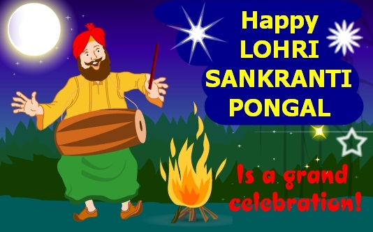 Happy Lohri Bhogi Images 2017
