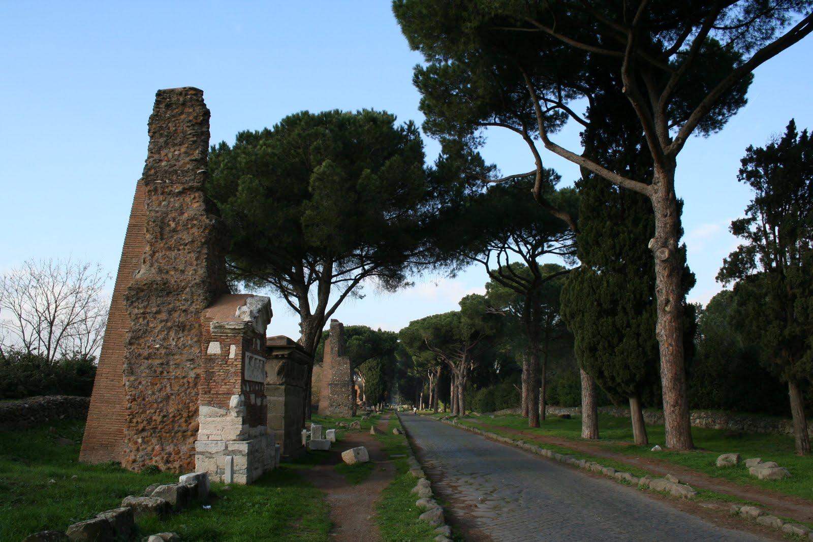 Viajar roma la v a appia antica y las catacumbas for Cioccari arredamenti via appia