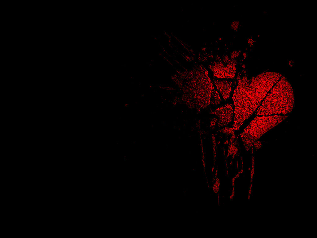 Photo Collection Gothic Hearts Wallpaper Background