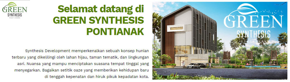 Green Synthesis Pontianak