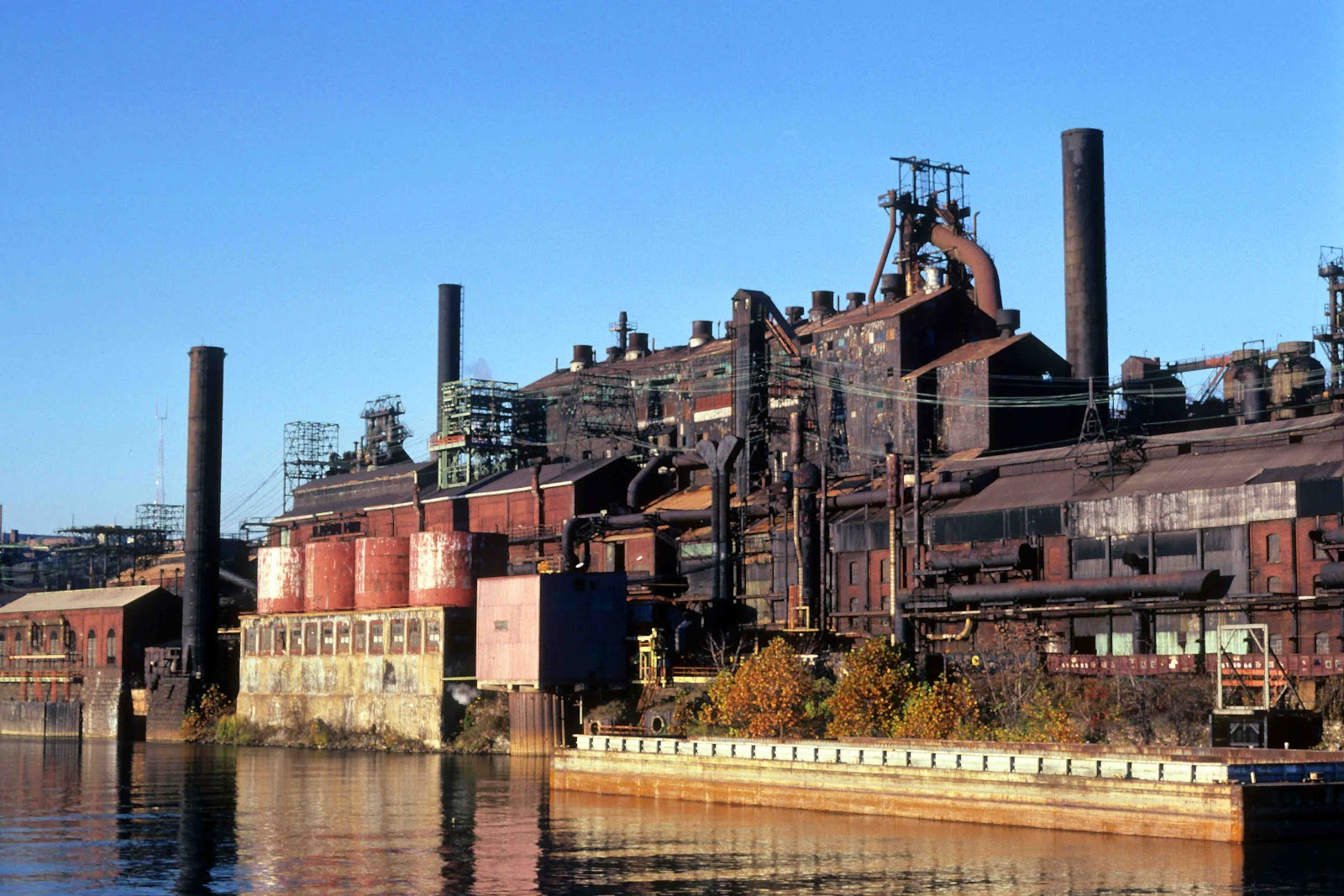 Gary indiana steel mill steel mill milling and abandoned