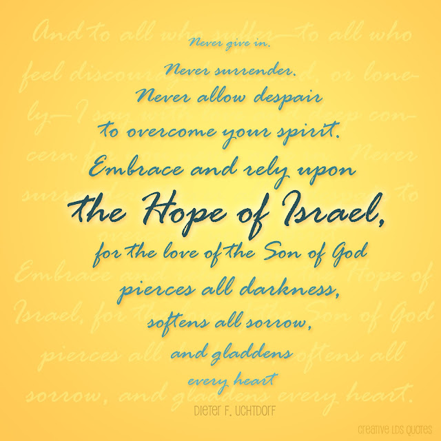 lds quotes on hope - photo #32