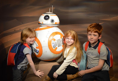 A family day trip to London with Virgin Trains East Coast - Madame Tussauds BB8