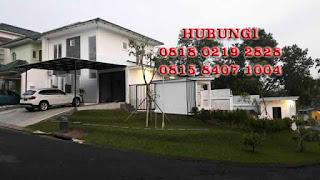 Rp.5.000.000.000 Dijual Rumah Baru Posisi Hook + Pool Di Bukit Golf Hijau Sentul City (code:219)