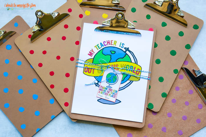 Clipboards for Teacher Gifts