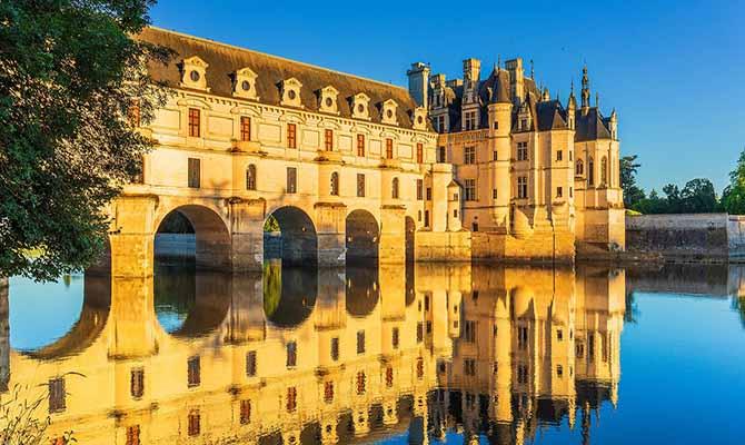 Château de Chenonceau Loire Valley France Tourist Travel