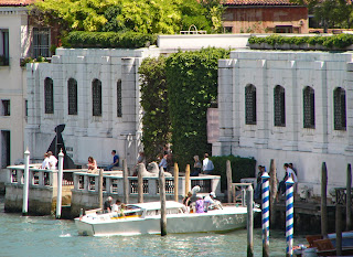 The Peggy Guggenheim Collection is located in a museum on the Grand Canal in Venice