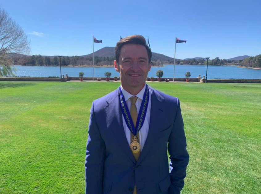 Hugh Jackman Received Order Of Australia Medal For His Contribution In Eradicating Poverty