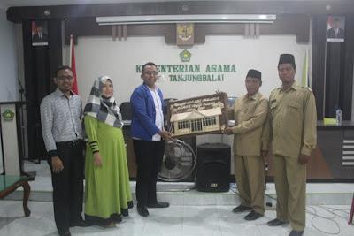 Perpisahan KKL Mahasiswa STMIK Royal di Kemenag Tanjungbalai