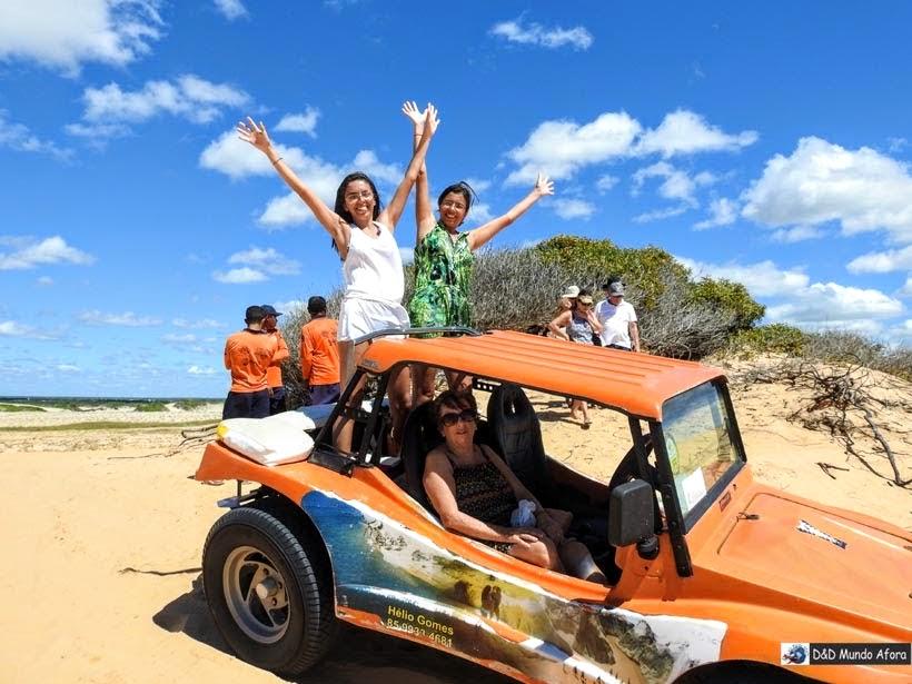 Passeio de Buggye em Morro Branco e Praia das Fontes - Tour 3 Praias