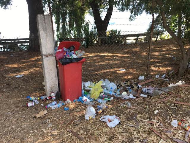 """Ηγουμενίτσα: Μία μικρή χωματερή στην περιοχή """"Τσιμέντα"""" (+ΦΩΤΟ)"""