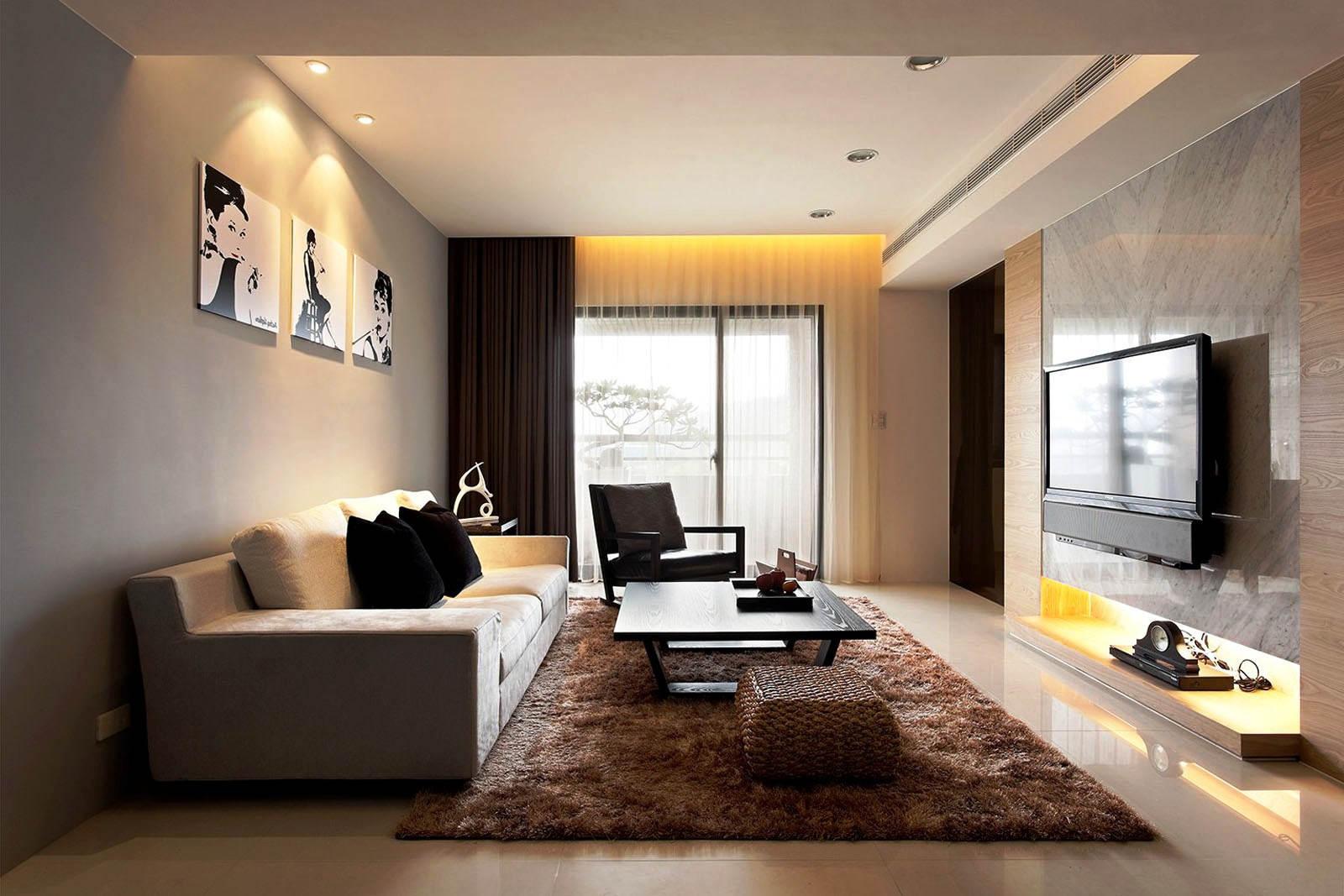 Foto Warna Cat Ruang Tamu Modern yang Bagus