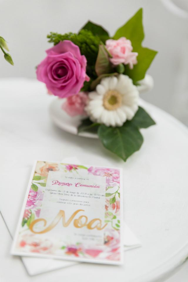 La Comunion de Noa Magazine - Invitacion Primera Comunion
