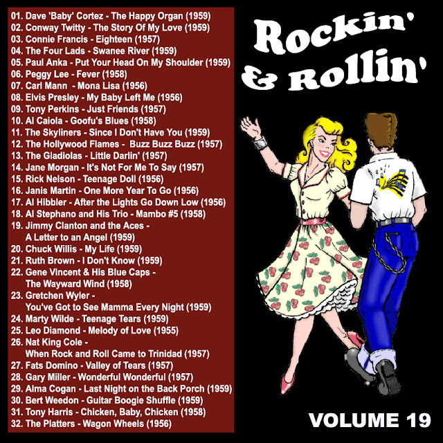 Cd collection Back To The 50's - Rockin' & Rollin' 19 Back