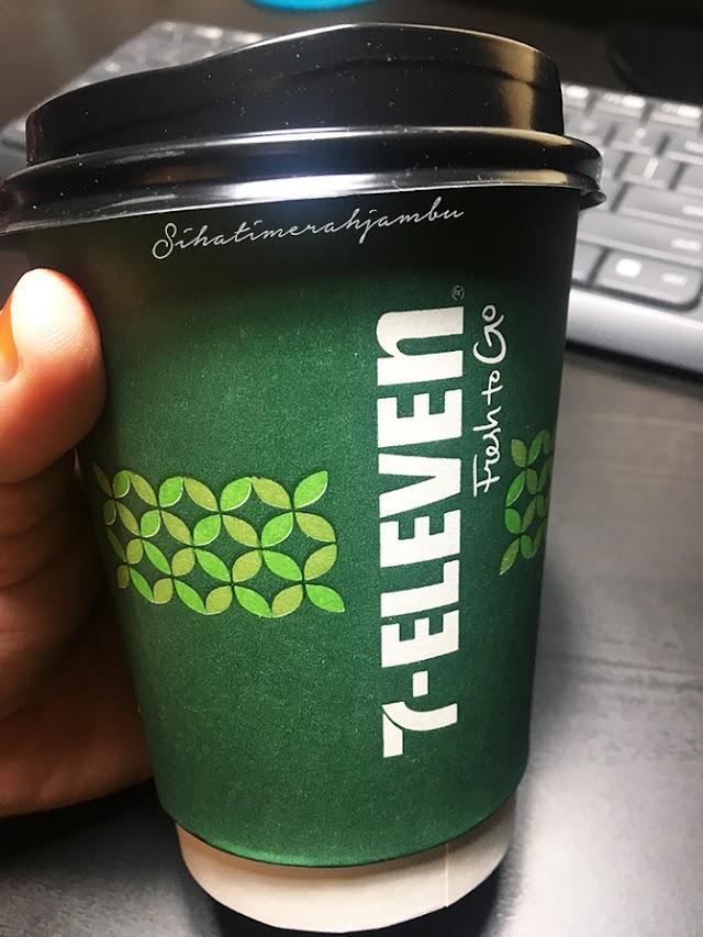 White Coffee 7Eleven RM3 Pun Sedap!