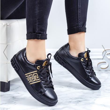 Pantofi sport dama negri moderni de calitate foarte buna
