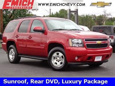 2014 Chevrolet Tahoe Certified Pre Owned