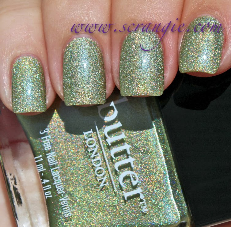 Scrangie Butter London Trustafarian Nail Lacquer Fall 2012 Swatches And Review