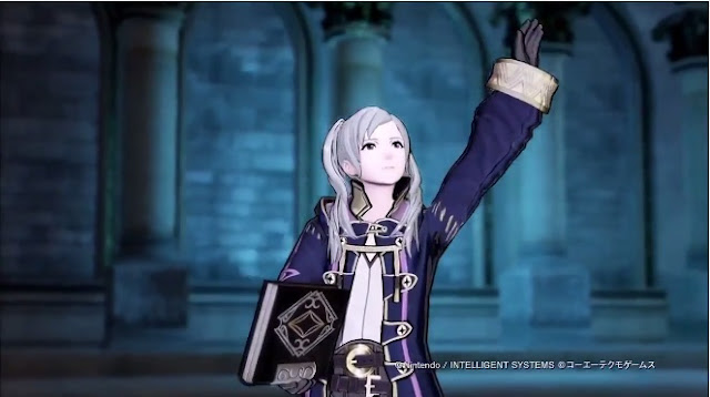 Female Robins Magical Fire Emblem Warriors Trailer -4265
