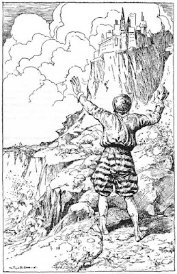 Εικονογράφηση του John B. Gruelle για τον Ψαρά και τη Γυναίκα του των Αδερφών Γκριμ